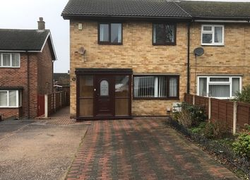 Thumbnail 2 bed semi-detached house for sale in Belvoir Crescent, Newhall