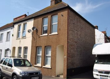Thumbnail 2 bed end terrace house for sale in Leopold Road, Bexhill-On-Sea