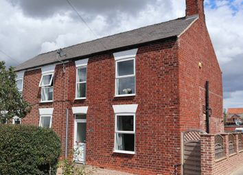 Thumbnail 3 bed semi-detached house for sale in Saxilby Road, Sturton By Stow, Lincoln