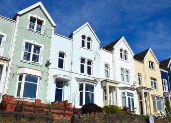 Thumbnail 4 bed terraced house for sale in Oaklands Terrace, Swansea
