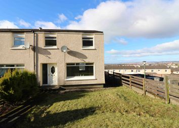 Thumbnail 3 bedroom end terrace house for sale in Arranview Street, Airdrie