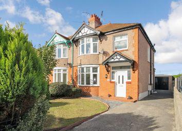 Thumbnail 3 bed semi-detached house for sale in Pendyffryn Road, Rhyl, Denbighshire