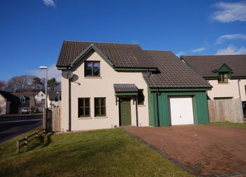 Thumbnail 3 bed detached house to rent in Teaninich Paddock, Alness