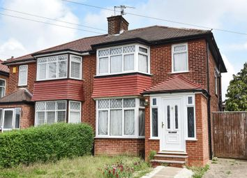 Thumbnail 3 bed semi-detached house for sale in Stanmore, Middlesex
