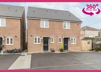 Thumbnail 2 bed semi-detached house for sale in Obama Grove, Rogerstone, Newport