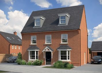 "Thumbnail 5 bed detached house for sale in ""Emerson"" at Bush Heath Lane, Harbury, Leamington Spa"