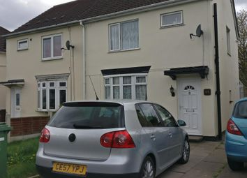 Thumbnail 3 bed property to rent in Dickinson Avenue, Wolverhampton