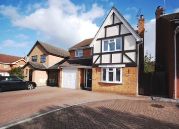 Thumbnail 4 bedroom detached house for sale in Anvil Way, Springfield, Chelmsford