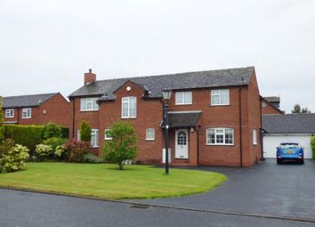 Thumbnail 4 bed detached house for sale in Foxley Close, Lymm, Cheshire