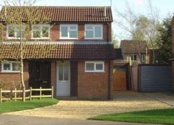Thumbnail 1 bed semi-detached house to rent in Fulmar Road, Lincoln