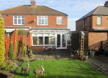 Thumbnail 3 bed semi-detached house for sale in Rock Road, Spennymoor