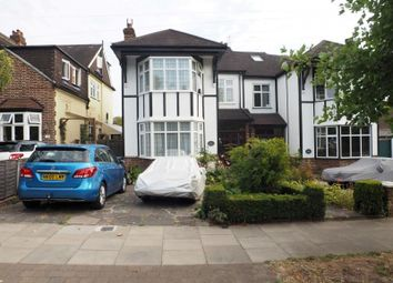 Thumbnail 4 bed semi-detached house to rent in Waterfall Road, Southgate