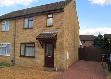Thumbnail 3 bed semi-detached house to rent in Godwin Road, Wisbech