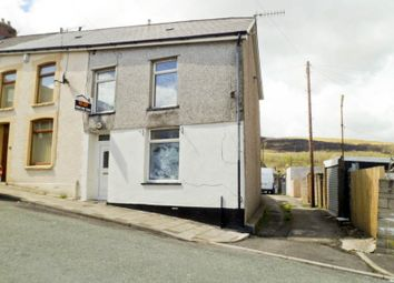 Thumbnail 2 bed end terrace house to rent in Glynfach -, Porth