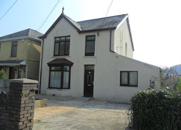Thumbnail 3 bed detached house for sale in Brecon Road, Pontardawe, Swansea.