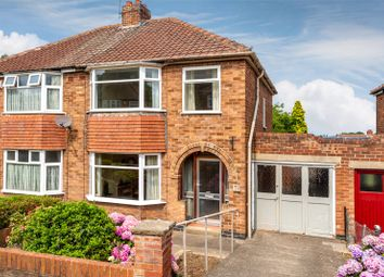Thumbnail 3 bed semi-detached house for sale in Newland Park Drive, York