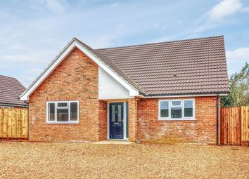 Thumbnail 3 bed detached bungalow for sale in The Close, Docking, King's Lynn