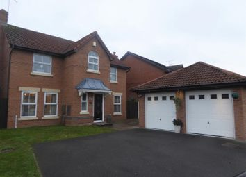 Thumbnail 4 bed detached house for sale in Augusta Drive, Wrexham