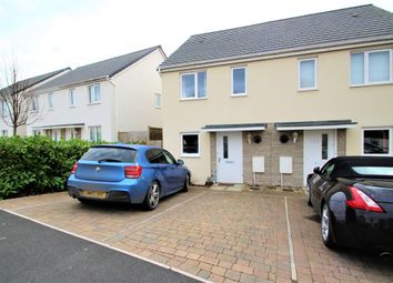Thumbnail 2 bed semi-detached house to rent in Foliot Road, Plymouth