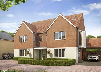"Thumbnail 4 bed semi-detached house for sale in ""The Lumley "" at Easter, Axial Way, Colchester"