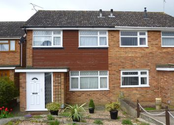 Thumbnail 3 bedroom semi-detached house to rent in Lanercost Way, Ipswich