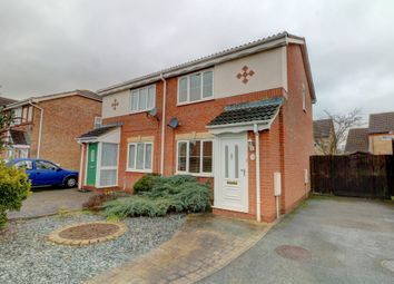 Thumbnail 2 bed semi-detached house for sale in Lancaster Place, Meppershall, Shefford