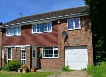 Thumbnail 3 bedroom semi-detached house for sale in Beaumont Drive, Cherry Lodge, Northampton
