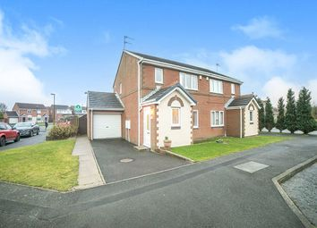 Thumbnail 3 bedroom semi-detached house for sale in Holyfields, West Allotment, Newcastle Upon Tyne