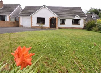 Thumbnail 3 bed detached bungalow for sale in Four Roads, Kidwelly