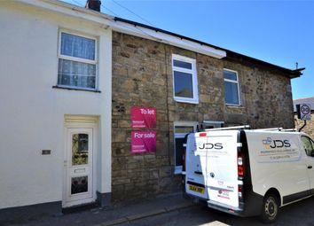 Thumbnail 2 bed terraced house for sale in Carnarthen Road, Camborne, Cornwall