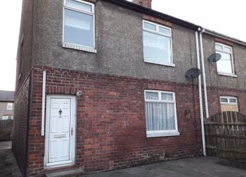 Thumbnail 3 bed semi-detached house to rent in Wilson Avenue, East Sleekburn, Bedlington