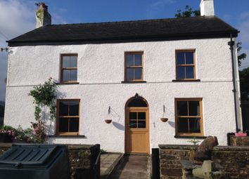 Thumbnail 4 bed detached house for sale in Trecastle, Brecon, Powys