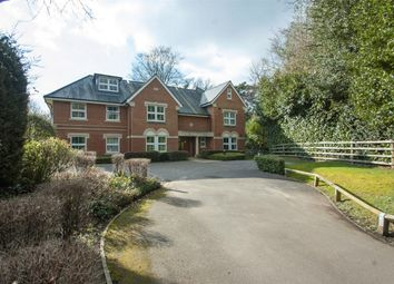 Thumbnail 2 bed flat for sale in Gally Hill Road, Church Crookham, Fleet