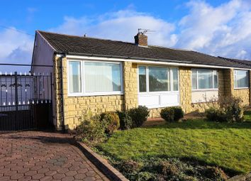Thumbnail 2 bed semi-detached bungalow for sale in Chadderton Drive, Newcastle Upon Tyne