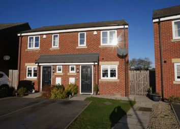 Thumbnail 2 bed semi-detached house for sale in Ascot Way, St. Helen Auckland, Bishop Auckland