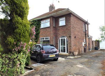 Thumbnail 3 bed semi-detached house for sale in Fleet Road, Fleet, Holbeach, Spalding