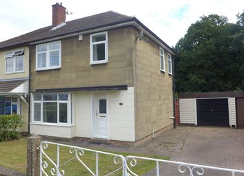 Thumbnail 3 bed semi-detached house to rent in Marina Close, Canley, Coventry, West Midlands