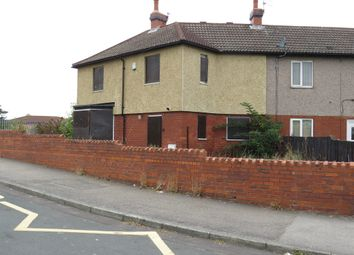 Thumbnail 2 bedroom end terrace house for sale in Brunswick Street, Thurnscoe, Rotherham