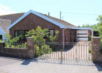 Thumbnail 3 bed detached bungalow for sale in Meadow Croft, Southgate, Swansea