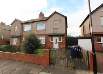 Thumbnail 3 bed semi-detached house for sale in Bruce Gardens, Newcastle Upon Tyne