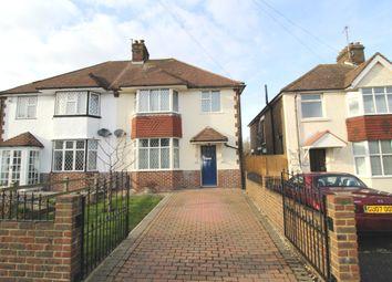 Thumbnail 3 bedroom semi-detached house to rent in Freeman Avenue, West Hampden Park, Eastbourne