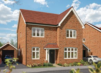 "Thumbnail 4 bed detached house for sale in ""The Aspen "" at Hobnock Road, Essington, Wolverhampton"