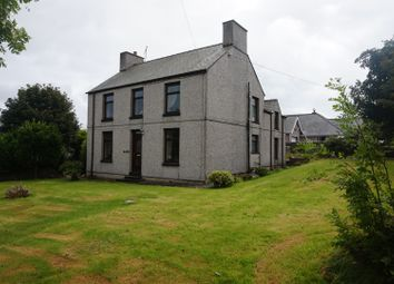 Thumbnail 4 bed detached house for sale in Llanrhyddlad, Holyhead