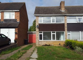 Thumbnail 3 bed semi-detached house to rent in Orchard Road, Raunds