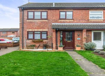 Thumbnail 3 bed semi-detached house for sale in Webster Way, Caister-On-Sea, Great Yarmouth