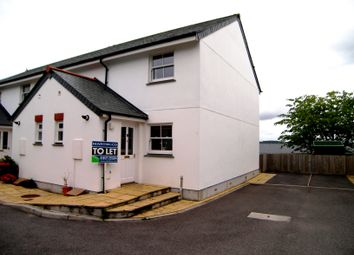 Thumbnail 2 bed semi-detached house to rent in Daniell Gardens, Truro
