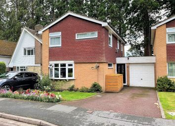 Thumbnail 3 bed detached house for sale in Ravenstone Road, Camberley, Surrey