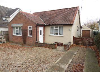 Thumbnail 3 bed detached bungalow for sale in Longwater Lane, New Costessey, Norwich