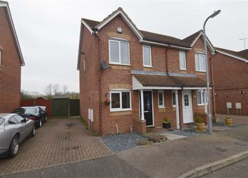 Thumbnail 2 bedroom semi-detached house for sale in Sunnedon, Basildon, Essex