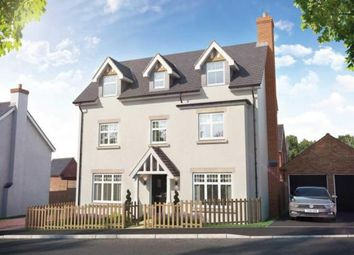 Thumbnail 5 bed detached house for sale in Home Farm Drive, Boughton, Northampton, Northamptonshire